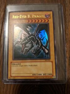 Yugioh Red Eyes. B. Dragon SDJ-001 Ultra Rare NM