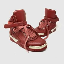 Givenchy Tyson red leather high top sneakers 42 9 $595
