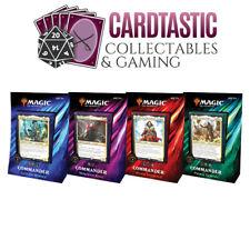 Magic the Gathering TCG Commander Deck 2019 Set of 4