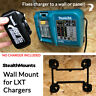 StealthMounts Wall Mount for Makita 18v Battery Charger DC18RA DC18RB LXT