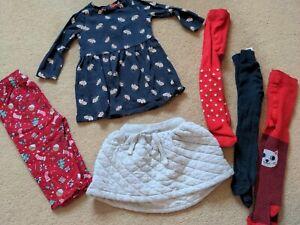 9-12 Month Girls ❄️ Winter Christmas Bundle