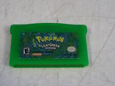 Pokemon Leaf Green Nintendo Game Boy Advance GBA