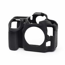 easyCover Camera Silicone Skin Case Cover Protector for Nikon D500 - Black