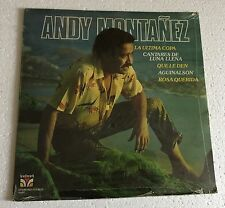 "RARE LP 12"" SEALED ANDY MONTANEZ SAME 1981 VELVET RECORD PUERTO RICO LA ULTIMA C"