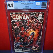 Conan the Barbarian, Vol. 3 #4 - Spider-Villains Variant - CGC 9.8