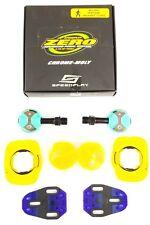 Speedplay Zero Cr-Mo Pedal Set w/ Walkable/Aero Cleats, Celeste Green