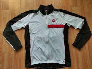 Castelli Men's Long Sleeve Fleece Thermal Cycling Jacket  Size: 2XL NEW!