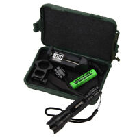 Tactical 5000LM XM-L T6 LED Flashlight Hunting Torch Shotgun/Rifle Battery Mount