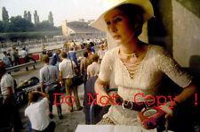 Nina Rindt Portrait Italian Grand Prix 1970 Photograph 2