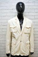 Giacca a Vento Uomo AMERICANINO Blazer Cotone Taglia XL Jacket Man Cappotto