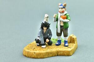 Naruto Choji & Kiba Akamaru Megahouse Mini Diorama Figure 2004