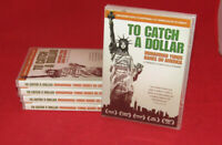 NEW 5 DVD LOT OF TO CATCH A DOLLAR MUHAMMAD YUNUS BANKS ON AMERICA (HOLE IN UPC)