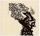 NAOKO MATSUBARA, 'WINTER SERENITY', signed woodblock print, 1971.