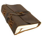 Leather Bound Personal Journal/Diary-Notebook/Sketchbook to write in (CLOSEOUT)