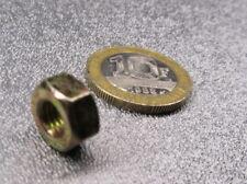 "Zinc Yellow Thin Hex Nut, Grade 8 Steel, Rh 1/4""-28 x 7/32"" Height - 300 Pcs"