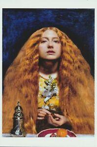 Dante Gabriel Rossetti Pre-Raphaelite Art Print Bride's Maids THE BELOVED Bride
