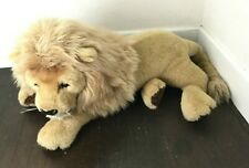 Douglas Cuddle Toys Titan King Plush Lion Life-like 3 Ft Huge Stuffed Vtg USA