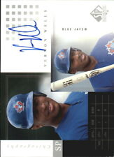2000 (BLUE JAYS) SP Authentic Chirography #VW Vernon Wells