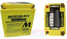 Motobatt mb10u Agm Sellada Libre De Mantenimiento de actualización de batería de la motocicleta cb10l-b2