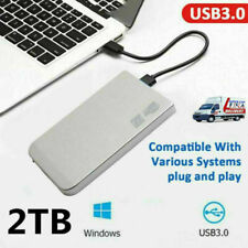 External Hard Drive 2TB HDD USB3.0 Externo HD Disk Storage Devices Laptop