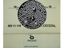 1440 Preciosa Czech Glass ChatonRose Stones ss10 clear Crystal Ironon,10ss,2.8mm