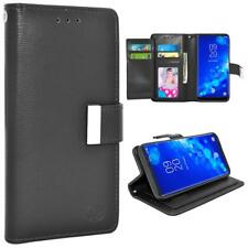 Double Flap Folio Leather Wallet Pouch Shockproof Case For Samsung Galaxy Note 9