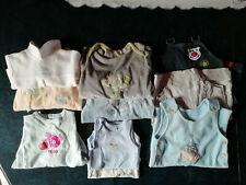 Lot de vêtements bébé garçon, naissance et 3 mois