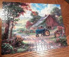 Thomas Kinkade 500pc Farm Jigsaw Puzzle NO BOX