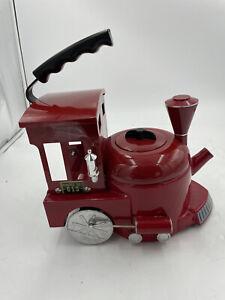 MKI World of Motion Steam Driven Train Kettle Tea Pot Red Locomotive #613