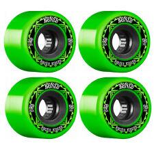 New listing Bones Skateboard Wheels 59mm Rough Riders Runners Green 80A ATF All Terrain For