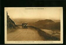 1922 FRANCE PC PUY-de-DOME-CAR ROUTE-CAR on SCRAMBLE-used-i22