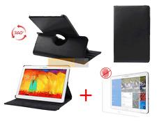 Funda Estuche Plegable GIRATORIA CARCASA 360° Negro para SAMSUNG Galaxy Note Pro