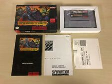 Super Ghouls 'n Ghosts Complete SNES Super Nintendo CIB Game