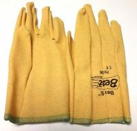 """12 PAIRS - """"BEST"""" BEX-S-SOF-PAW PVC GLOVE -CHEMICAL RESISTANT- DURABLE - SMALL"""