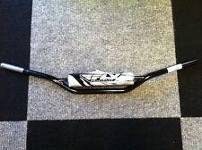 New FLY Steel Handlebars + Pad Bars Honda CR High Bend 125 250 500 XR 350 400