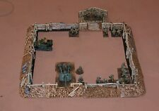 1/72 20mm scale WW2 earthwork compound. Fantasy sci-fi wargames Daemonscape.com