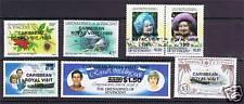 Gren. St Vincent 1985 Royal Visit ovpts. SG420/6 MNH