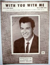 EDDIE ROBERTSON Sheet Music WITH YOU WITH ME Johnny MERCER Criterion Publ.