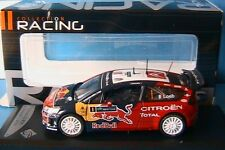 CITROEN C4 WRC #1 LOEB WINNER IRELAND RALLY 2009 RED BULL SOLIDO 1/43 EIRE