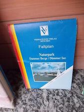 Faltplan Naturpark Dammer Berge / Dümmer See, 2. Auflage