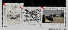 CROATIA SC 538-40 NH issue of 2003 - MODERN ART