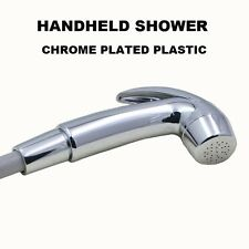 CHROME PLATED HANDHELD SHOWER HEAD NOZZLE SPRAYER BOAT MARINE TRAILER MOTORHOME