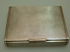 MASSIVE STERLING SILBER 925 ZIGARRENDOSE 482 gr ART DECO HEAVY CIGAR CASE