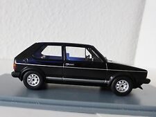 VW GOLF I GTI 1981 NOIR VOLKSWAGEN 1/43 NEOSCALE Models NEO 45555 1 neo45555
