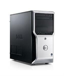Dell Precision T1500 MT/Core i7-870 @ 2.93GHz/8GB DDR3/1TB /DVD-RW/No OS
