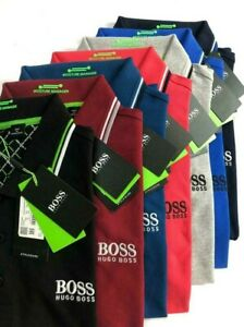 Hugo Boss Men's Polo Golf Moisture Manager Original Short Sleeve Classic Stretch