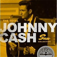 JOHNNY CASH THE TOTAL SUN COLLECTION REMASTERED 2 CD NEW