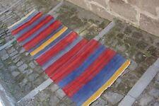 "FREE SHIPPING Vintage Handmade Turkish Oushak Runner Rug Kilim 8'10""x2'4"""