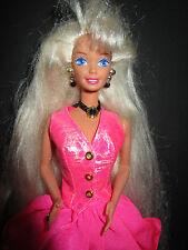 B135-vieja vintage cut and style barbie #12639 mattel 1995 completo joyas rar