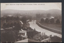 Herefordshire Postcard - Hereford: River Wye From Cathedral Tower    RS6681